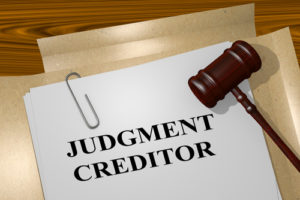 Experienced NJ Bankruptcy Attorney Handles Creditors and Judgment Collection