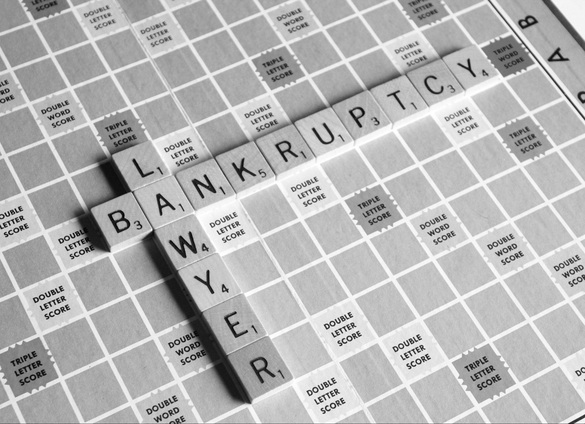 bankruptcy lawyer scrabble game